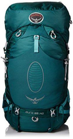 Osprey Women's Aura AG 65 Backpack (2017 Model), Rainforest Green, Small