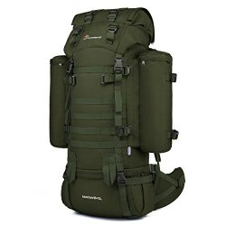 Mardingtop 65+10L Internal Frame Backpack Tactical Military Molle Rucksack for Hunting Shooting  ...