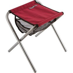 Trekology Portable Folding Camping Stools, Ultralight Compact Camp Footrest Stool, Mesh bag for  ...