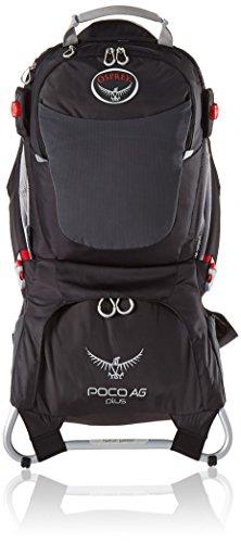 Osprey Packs 10000121  Poco AG Plus Child Carrier, Black