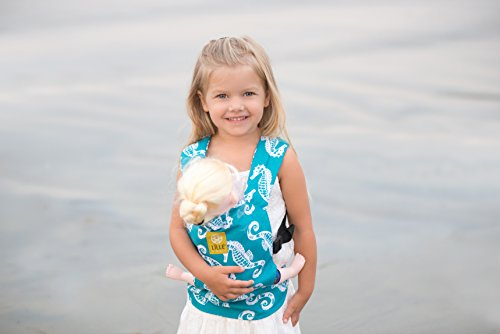 LILLEbaby Doll Carrier- Seahorse
