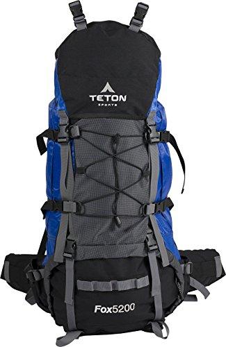 TETON Sports Fox 5200 Internal Frame Backpack – Not Your Basic Backpack; High-Performance Backpa ...