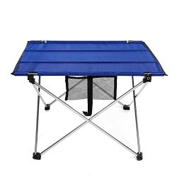Moroly Ultralight Folding Camping Table Portable Picnic Roll Up Table with Carrying Bag for Outd ...