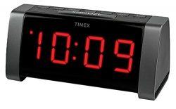 Timex T235BYC AM/FM Dual Alarm Clock Radio – Black