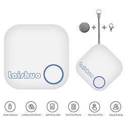 Bari XMS1023 Bluetooth Tracker, Bluetooth keys Tracker, Key Finder Tracking Wallet Key Bag Pet D ...