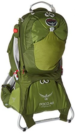 Osprey Packs Poco AG Premium Child Carrier, Ivy Green