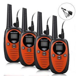 22 Channel FRS GMRS Dual Band 2 Way Radio Long Range Up to 3000M/1.9MI Range (MAX 3.1MI in Open  ...