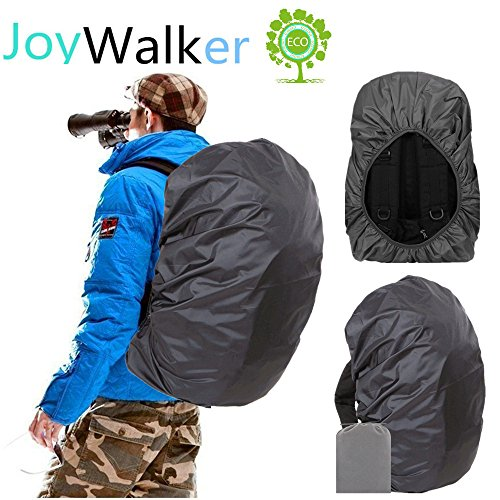 Joy Walker Backpack Rain Cover Waterproof Breathable Suitable for Hiking /Camping /Traveling (bl ...