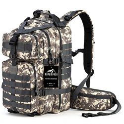 RUPUMPACK Military Tactical Backpack Hydration Backpack by, Army MOLLE Bug Out Bag, Small 3-Day  ...