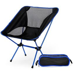 X-CAT Ultralight Folding Chair with Carry Bag, Portable Beach Sunbath Picnic Barbecue Camping Ch ...