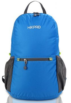 HIKPRO 20L – The Most Durable Lightweight Packable Backpack, Water Resistant Travel Hiking ...