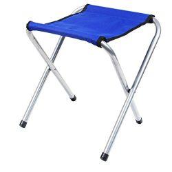Lifelj Folding Stool Camping Chair Fishing Stool Outdoor Camping Furniture Folding Stool