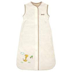 Small Unisex Baby Sleeping Bag – 100% Cotton Wearable Blanket – Creamy Giraffe 0-9 M ...