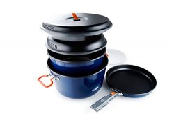 GSI Outdoors Bugaboo Base Camper, Superior Backcountry Cookware Since 1985, Large