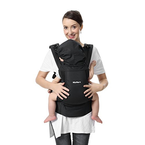 Soft Baby Carrier, MixMart 3-in-1 Ultra-light Ergonomic Child Carrier Backpack Front and Back Ca ...