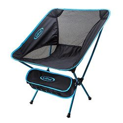 G4Free Lightweight Portable Chair Outdoor Folding Backpacking Camping Chairs For Sports Picnic B ...