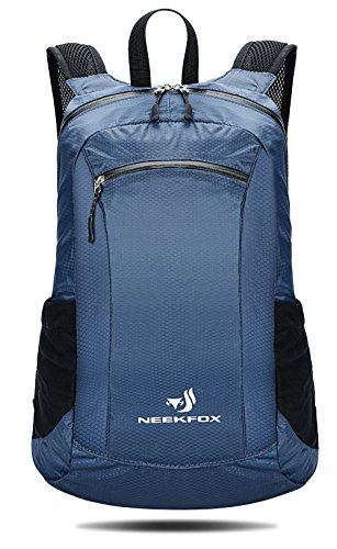 4b90668bad17 NEEKFOX 20L Packable Lightweight Travel Hiking Backpack Small Water  Resistant Hiking Daypack (02 .