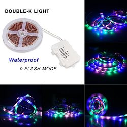 Battery Powered LED Strip Lights Waterproof 3528 SMD LED Lights Indoor Outdoor Decoration for Co ...