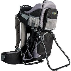 Clevr Cross Country Baby Backpack Hiking Carrier with Stand and Sun Shade Visor Child Kid toddle ...