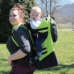Gorilla Carriers Green Baby Carrier Backpack
