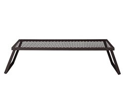 AmazonBasics Heavy Duty Folding Campfire Grill, X-Large