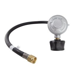Integrated Gas Technology LP Gas Regulator | Low Pressure Propane Regulator (2ft Hose, 70,000 BT ...