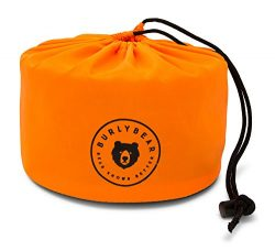 Burlybear Bear Knows Campfire Cooking. Camping Cookware Set by Lightweight and Compact, the 14 P ...