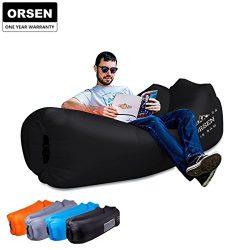 ORSEN Inflatable Lounger Air Sofa Hammock-Portable,Water Proof& Anti-Air Leaking Design-Idea ...