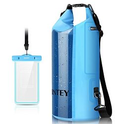 INTEY Camping Gear Dry Bag Kayaking Waterproof Dry Bags for Camping & Traveling & Hiking ...