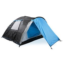 Two Person Camping Tent with Vestibule, 2 People Waterproof Backpacking Tent for Outdoor Travel  ...