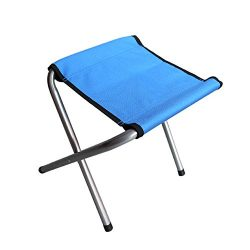 Edoking Folding Camping Stool Chair, Portable Mini Lightweight Slacker Chairs for Fishing Outdoo ...