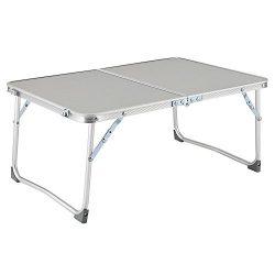 Fanala Aluminum Folding Table Portable Lightweight Outdoor Picnic Camping Table Laptop Desk (US  ...