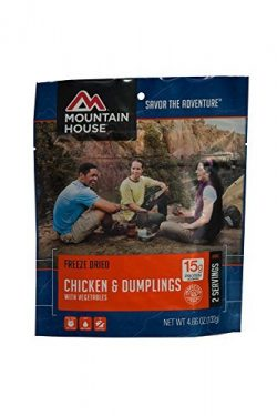 Mountain House Chicken and Dumplings with Vegetables 2-Pack