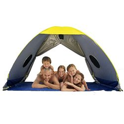 RIJER Larger Instant Sun Shade tent, for 4-5 perple POP UP Family UV Playbeach Tent Cabana Anti  ...