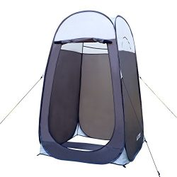 Leader Accessories Pop Up Shower Tent Dressing Changing Tent Pod Toilet Tent 4′ x 4′ ...