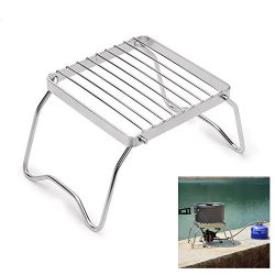 hy Outdoor Burner Stand,Camping Stove, Wood Stove/Backpacking Stove,Portable Stainless Steel Woo ...