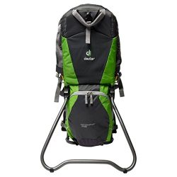 DEUTER Kid Comfort Air Backpack, Grey/Green