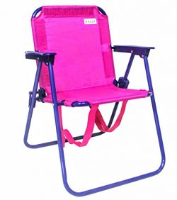 VALLF Kids Beach & Camping Folding Chair with Convenient Backpack Straps and Safety Lock to  ...