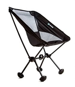WildHorn Outfitters Terralite Portable Camp / Beach Chair (Supports 350 lbs) with TerraGrip Feet ...