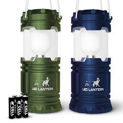 MalloMe LED Camping Lantern Flashlights – Backpacking & Camping Equipment Lights ̵ ...