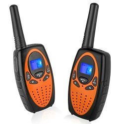 Two Way Radios for Adults, Topsung M880 FRS Walkie Talkie Long Range with VOX Belt Clip/Hands fr ...
