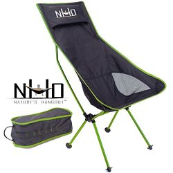 Ultralight Camping Chair – Folding, Compact, Lightweight & Portable. Comfortable Desig ...