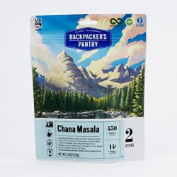 Backpacker's Pantry Chana Masala Two Serving Pouch, (Packaging May Vary)