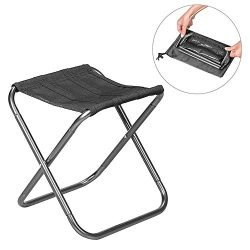 Leegoal Portable Folding Chair, Compact Ultralight Folding Stool Seat with a Carry Bag, Heavy Du ...