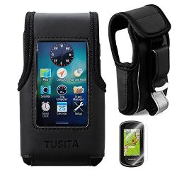 TUSITA Carrying Case With Belt Clip and Screen Protector for Garmin Oregon 600/600t/650/650t/700 ...