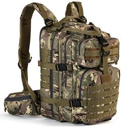 Gelindo Military Tactical Backpack, Hydration Backpack, Army Molle Bug-out Bag, Small Rucksack f ...