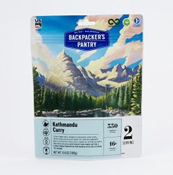 Backpacker's Pantry Katmandu Curry, Two Serving Pouch, (Packaging May Vary)​