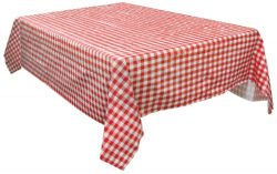Stansport Vinyl Tablecloth