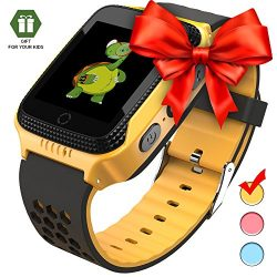 Smart watch for kids Smart watches for boys Smartwatch gps tracker watch Wrist android mobile Ca ...