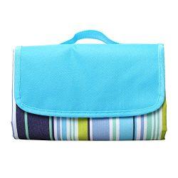 StillCool Outdoor Blanket Mat Picnic Blanket Tote Waterproof & Sandproof Portable Beach Mat  ...